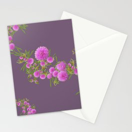 Pink Mimosa Stationery Cards