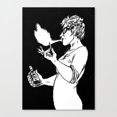 Flamespitter Canvas Print
