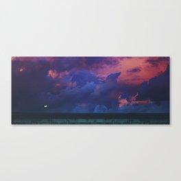 Yangon Sunset Canvas Print