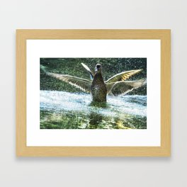 Shimmer and Shake Framed Art Print