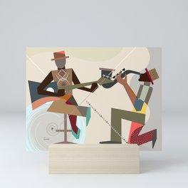 Jazz Quintet III Mini Art Print