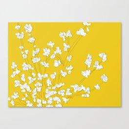 Bright Forsythia Canvas Print