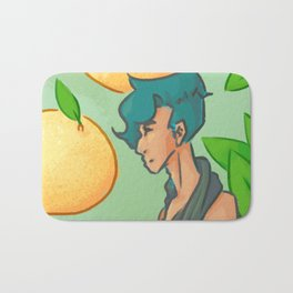 Summer and Citrus Bath Mat