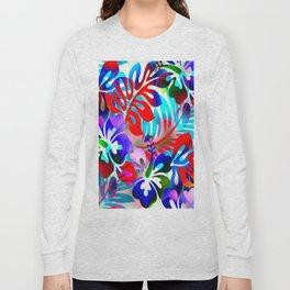 Tropical Jungle Flora Long Sleeve T-shirt