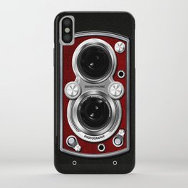 Vintage Camera Red iPhone Case