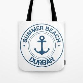 Summer Beach Durban Tote Bag