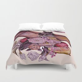 Fruit Bats Duvet Cover