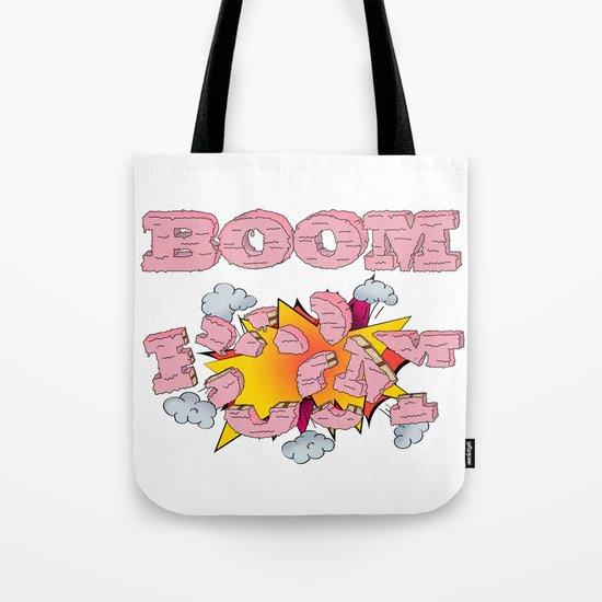 Boom, cake  Tote Bag