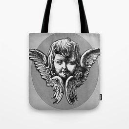 Cherub Face | Angel | Vintage cherub | Vintage angel | Angel decor Tote Bag