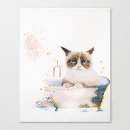 Helga's Bath Time Canvas Print