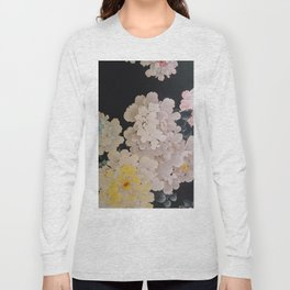 Floral Pop Wallpaper Long Sleeve T-shirt