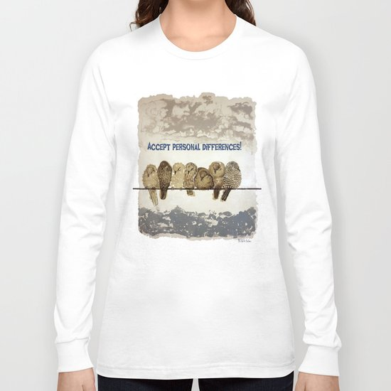 Differences Long Sleeve T-shirt