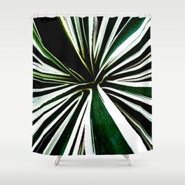 Sunburst Sansevieria Shower Curtain