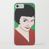 amelie iPhone & iPod Cases featuring Amelie by Pendientera