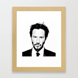 Keanu I Framed Art Print