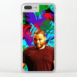 Anthony Anderson - Celebrity Art Clear iPhone Case