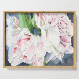 Amaryllis Serving Tray