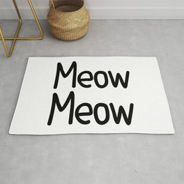 Meow Meow Rug