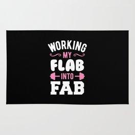 Working My Flab Into Fab Rug