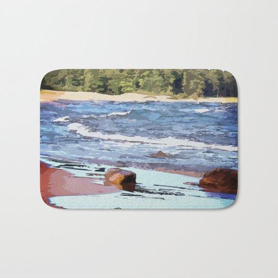 Lake Superior Bay Bath Mat