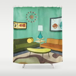 The Room 1962 Shower Curtain