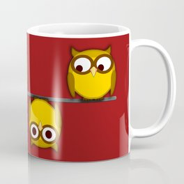 A whole new perspective for the owl Coffee Mug