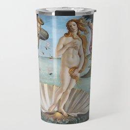 Botticelli's The Birth of Venus (High Resolution) Travel Mug