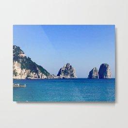 Capri - Faraglioni Metal Print