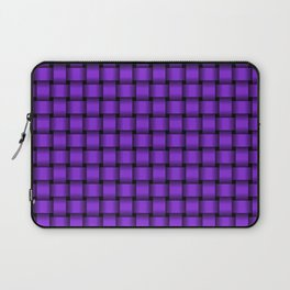 Small Violet Weave Laptop Sleeve