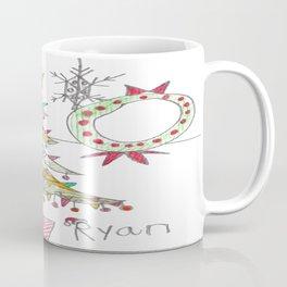 Festive Christmas Scene Coffee Mug