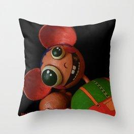 Juca Favolas Throw Pillow