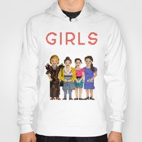 girls Hoodies featuring Girls by Sy Graham