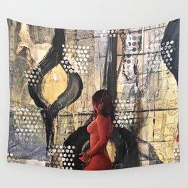 Abstract Experimentation V 3.0 Wall Tapestry