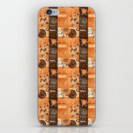 chemistry iPhone Skin