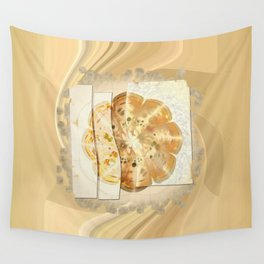 Upshifting Unconcealed Flowers  ID:16165-105815-13851 Wall Tapestry