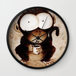 Monkey Joe Wall Clock