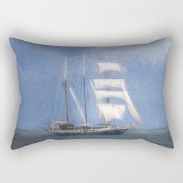 Atlantis Sailing Ship Turner Storms Rectangular Pillow