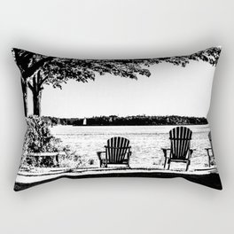 Weekend At The Cottage Rectangular Pillow