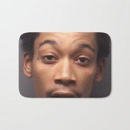Wiz Khalifa Mug Shot Bath Mat
