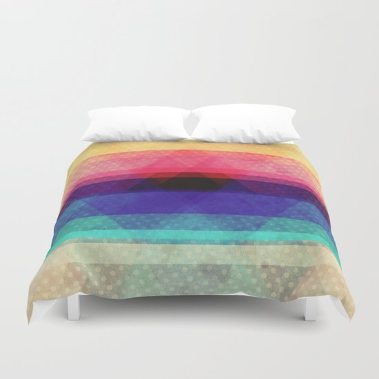The heart of the mountain Duvet Cover