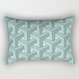 Goyard Cheveron Pattern Rectangular Pillow