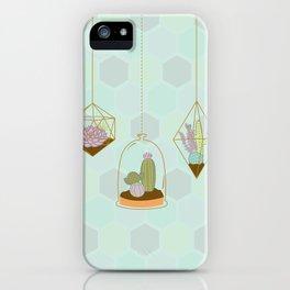 Cactus Terrarium iPhone Case