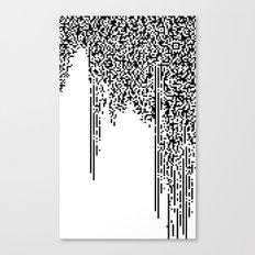 QR-antine V 0.2 Canvas Print