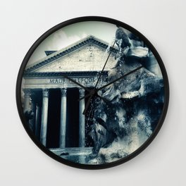 All Roads Lead to Rome Wall Clock