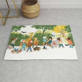 We will play here! Rug