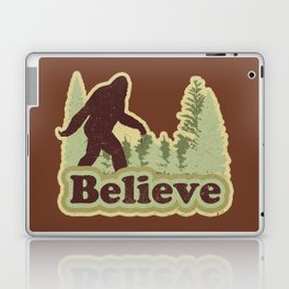 Bigfoot Believe Laptop & iPad Skin