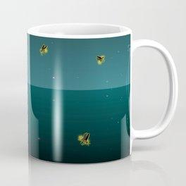 Swimming With Fireflies Coffee Mug