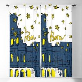 Rome Italy Blackout Curtain