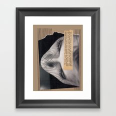 Universe Collage Framed Art Print