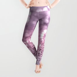 Unicorn Girls Glitter #7 #shiny #pastel #decor #art #society6 Leggings